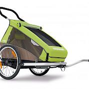 One-luggage Croozer trailer
