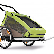 Two-luggage Croozer trailer