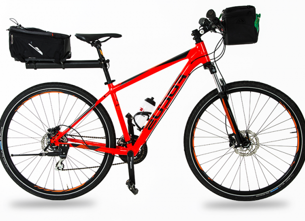 Fully-equipped hybrid bike