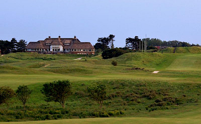 Clubhouse at Kennemer Golf & Country Club in Zandvoort, North Holland, the Netherlands. Photo via TO