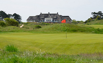 Clubhouse at Kennemer Golf & Country Club in Zandvoort, North Holland, the Netherlands. ©Kennemer Golf & Country Club