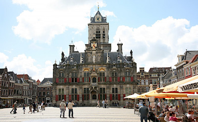 Rathaus in Delft, South Holland, the Netherlands. Flickr:bert knottenbeld