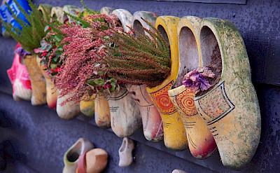 Decorative <i>klompen</i> at the Zaanse Schans, Zaandam, the Netherlands. Flickr:Mario Sanchez Prada