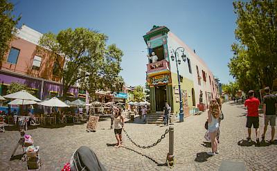Caminito in La Boca, Buenos Aires, Argentina. Flickr:Juanedccom
