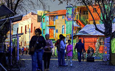 Caminito in La Boca, Buenos Aires, Argentina. CC:Luis Argerich