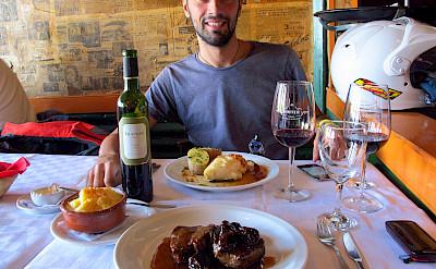 Dining in Ushuaia, Argentina. Flickr:Los viajes del Cangrejo