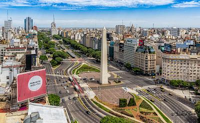 Obelisk in Buenos Aires, Argentina. Flickr:Steven dosRemedios