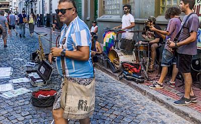 Street band in Buenos Aires, Argentina. Flickr:Steven dosRemendios