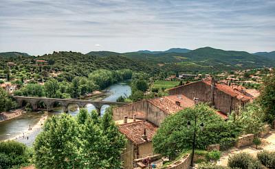 Orb River in Roquebrun, France. Flickr:Andy Walker