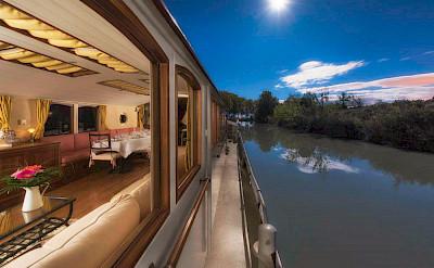 Luxury Ship | Roi Soleil | Bike & Boat Tours France ©Roi Soleil