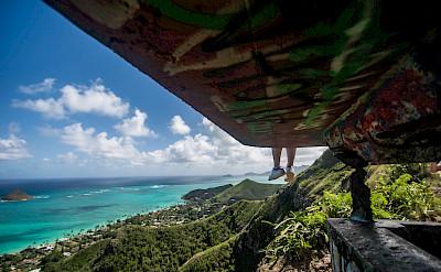 Verdant greens & azure blues in Hawai'i. Flickr:Erik Cooper