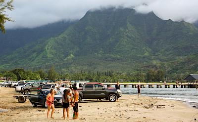 Sand & surf in Molokai, Hawai'i. Flickr:Mark Shepherd