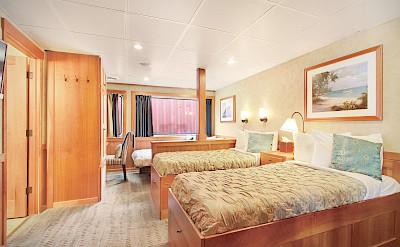 Admiral triple cabin side | Safari Explorer | Alaska and Hawaii Cruise Tour