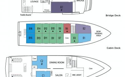 Deck plan | Safari Explorer | Alaska and Hawaii Cruise Tour
