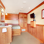 Master cabin | Safari Explorer | Alaska and Hawaii Cruise Tour