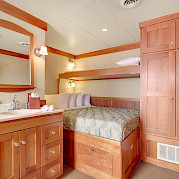 Master pullman cabin | Safari Explorer | Alaska and Hawaii Cruise Tour