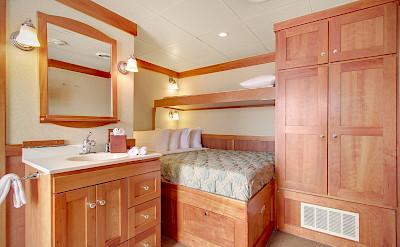 Master pullman cabin | Safari Explorer | Alaska and Hawaii Cruise Tour