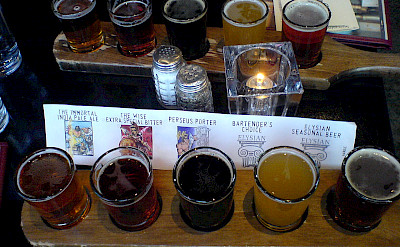 Beer tasting in Seattle, Washington. Flickr:Emil Eifrem