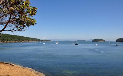 Boats on Sucia Island as part of the San Juan Islands in Washington. Flickr:Aaron