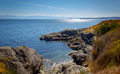 View of Salish Sea. Flickr:Kevin Boyd