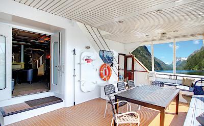 Aft deck | Safari Quest | Pacific Northwest Cruise Tour