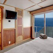 Captain cabin door | Safari Quest | Pacific Northwest Cruise Tour