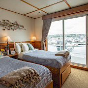 Captain twin cabin | Safari Quest | Pacific Northwest Cruise Tour