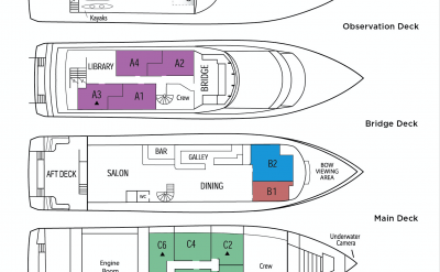 Deckplan | Safari Quest | Pacific Northwest