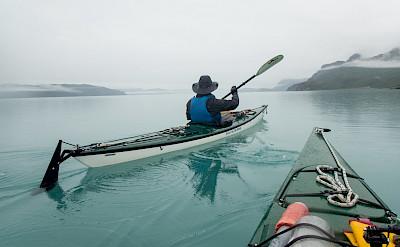 Kayaking in Glacier Bay National Park in Alaska. Flickr:Matt Zimmerman