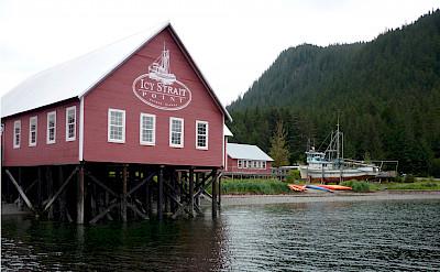 Icy Strait Point in Alaska. Flickr:Moira Dunworth