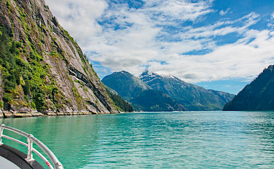 Blue waters of Tracy Arm, Alaska. Flickr:DAve Bezaire