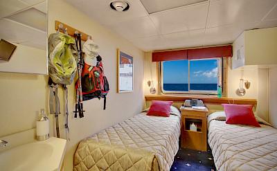 Navigator cabin   Wilderness Discoverer   Alaska and USA Cruise Tour
