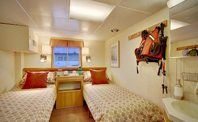 Trailblazer cabin   Wilderness Discoverer   Alaska and USA Cruise Tour