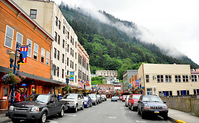 Juneau, the capital of Alaska. Flickr:Kimberly Vardeman