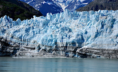 Margerie Glacier in Glacier Bay National Park, Alaska. Flickr: Kimberly Vardeman