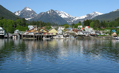 Sitka Channel in Alaska. Flickr:Dave Bezaire