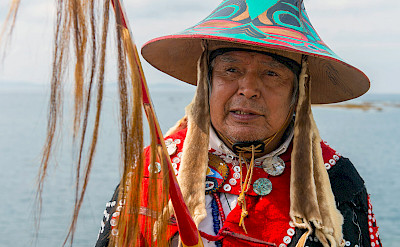 Tlingit tribal elder, Alaska. ©TO by Kate Wolfgang Kaehler