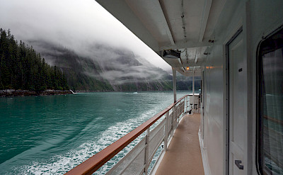 View of Misty Fjords from Wilderness Explorer, Alaska. ©TO