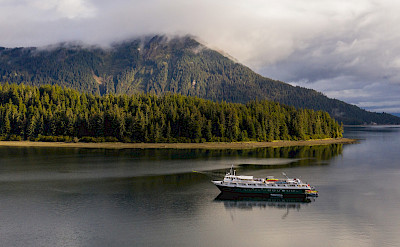 Wilderness Adventurer in Neka Bay, Alaska. ©TO