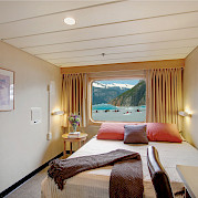 Captain cabin window | Safari Endeavour | Alaska Cruise Tour