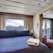 Commodore cabin | Safari Endeavour | Alaska Cruise Tour