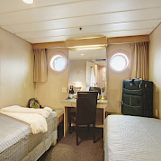 Master twin cabin | Safari Endeavour | Alaska Cruise Tour