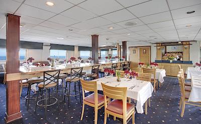 Dining area | Wilderness Explorer | Alaska Cruise Tour