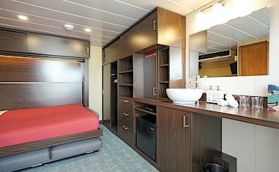 Explorer cabin bed | Wilderness Explorer | Alaska Cruise Tour
