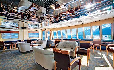 Lounge | Wilderness Explorer | Alaska Cruise Tour