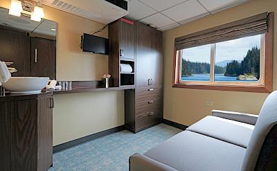 Trailblazer sofa | Wilderness Explorer | Alaska Cruise Tour