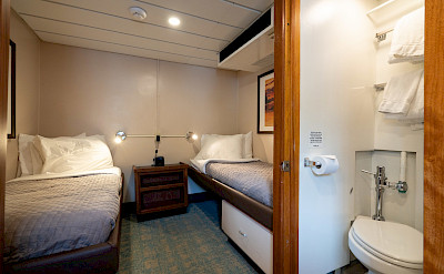 Trailblazer twin cabin | Wilderness Explorer | Alaska Cruise Tour