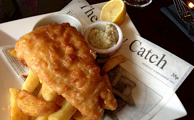 Fish & chips in the UK. Flickr:Smabs Sputzer