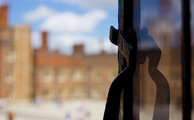 Hampton Court Palace on the River Thames in England. Flickr:Paul Hudson