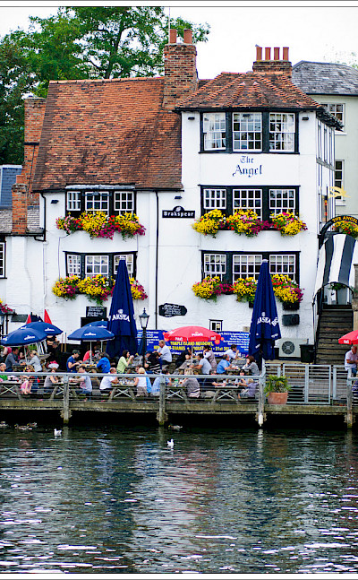 Henley-on-Thames in Oxfordshire, England. Flickr:Jos Dielis